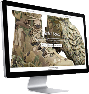 CombatBoots.org.uk Website