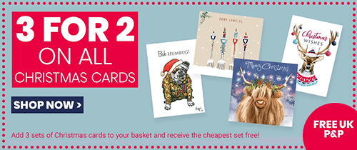 Help for Heroes 3 for 2 Christmas Cards