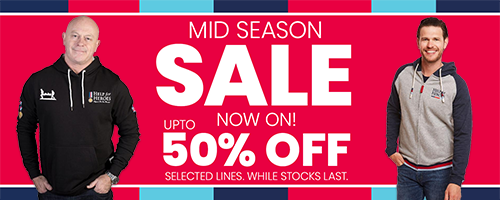 Help for Heroes Mid Season Sale