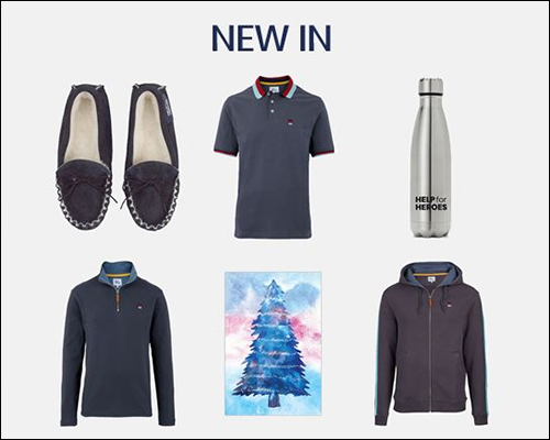 Help for Heroes New Spirit Collection