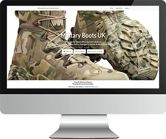 MilitaryBootsUK.co.uk Website