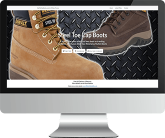 SteelToeCapBoots.co.uk Website