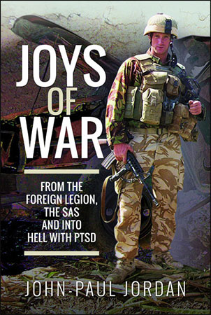 Joys of War by John-Paul Jordan - Book Sleeve