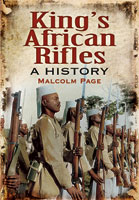 Kings African Rifles - A History Sleeve Art