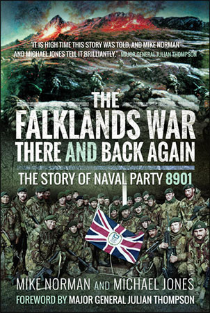 The Falklands War - There and Back Again - Book Sleeve